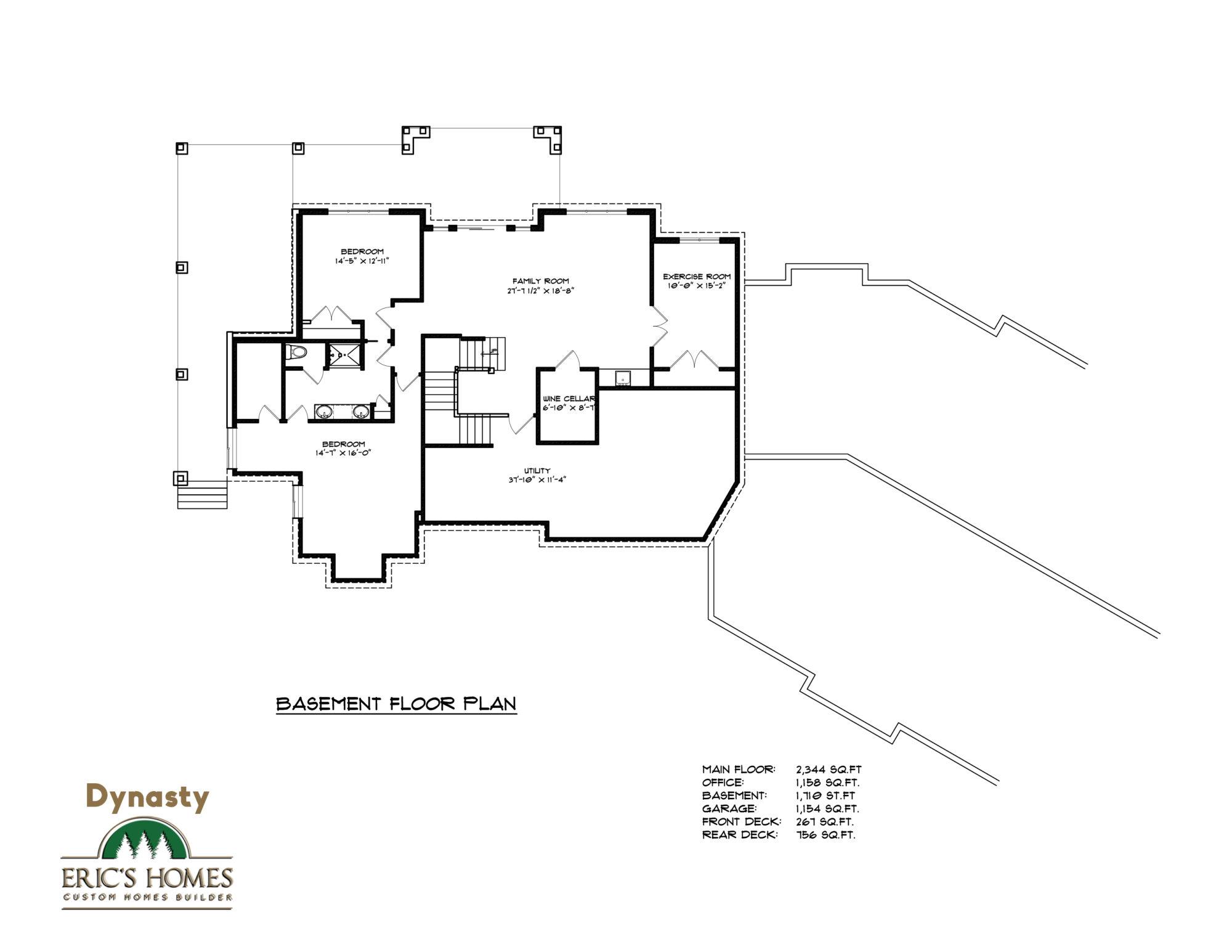 Dynasty brochure basement plan(3)